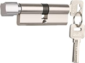 YIJIAN Door Cilinderslot Biased 70mm 3 Sleutels Anti-Theft Entree Brass AB deurvergrendeling Home Security Interior Bedroo...
