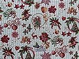 Provencestoffe.com Weihnachtsstoff Meterware, Gobelin