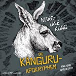 Die Känguru-Apokryphen     Live und ungekürzt              Autor:                                                                                                                                 Marc-Uwe Kling                               Sprecher:                                                                                                                                 Marc-Uwe Kling                      Spieldauer: 4 Std. und 21 Min.     14.870 Bewertungen     Gesamt 4,8
