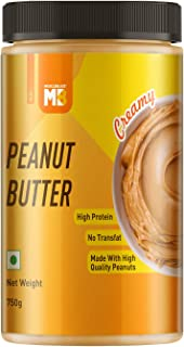 Muscleblaze Peanut Butter with Added Omega, Creamy, 750g