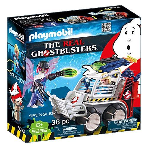 PLAYMOBIL Ghostbusters Spengler Coche Jaula Lanzador