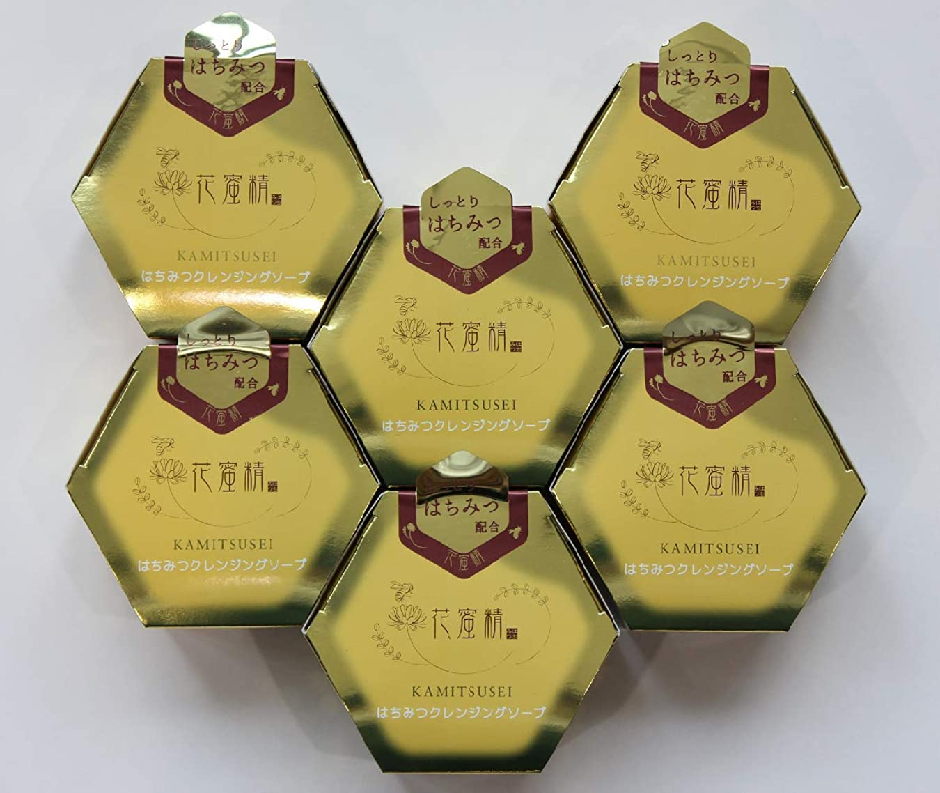 魔術師過度に今まで花蜜精 はちみつ クレンジングソープ 85gX6個