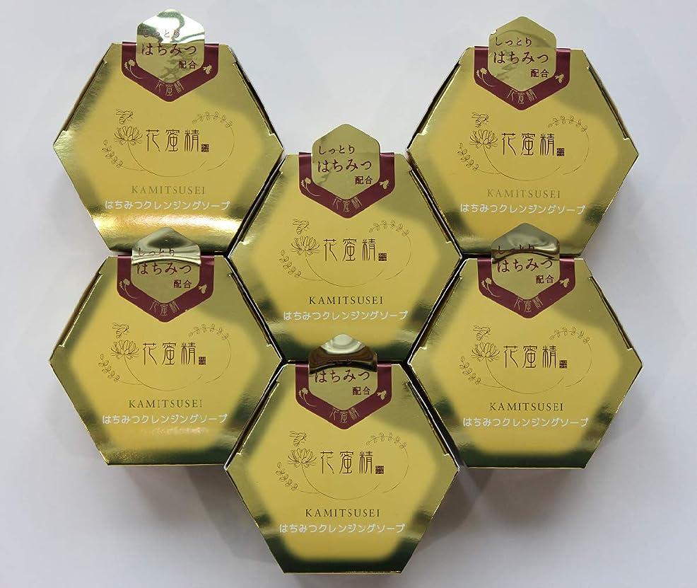 木キウイ保証花蜜精 はちみつ クレンジングソープ 85gX6個