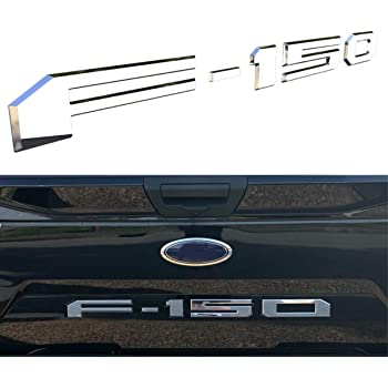 LimitlessParts Tailgate Insert Letters fits 2017-2019 Super Duty Trucks Matte Black Plastic Inserts Black ABS Plastic 1.5mm Thick Indentation Inlay