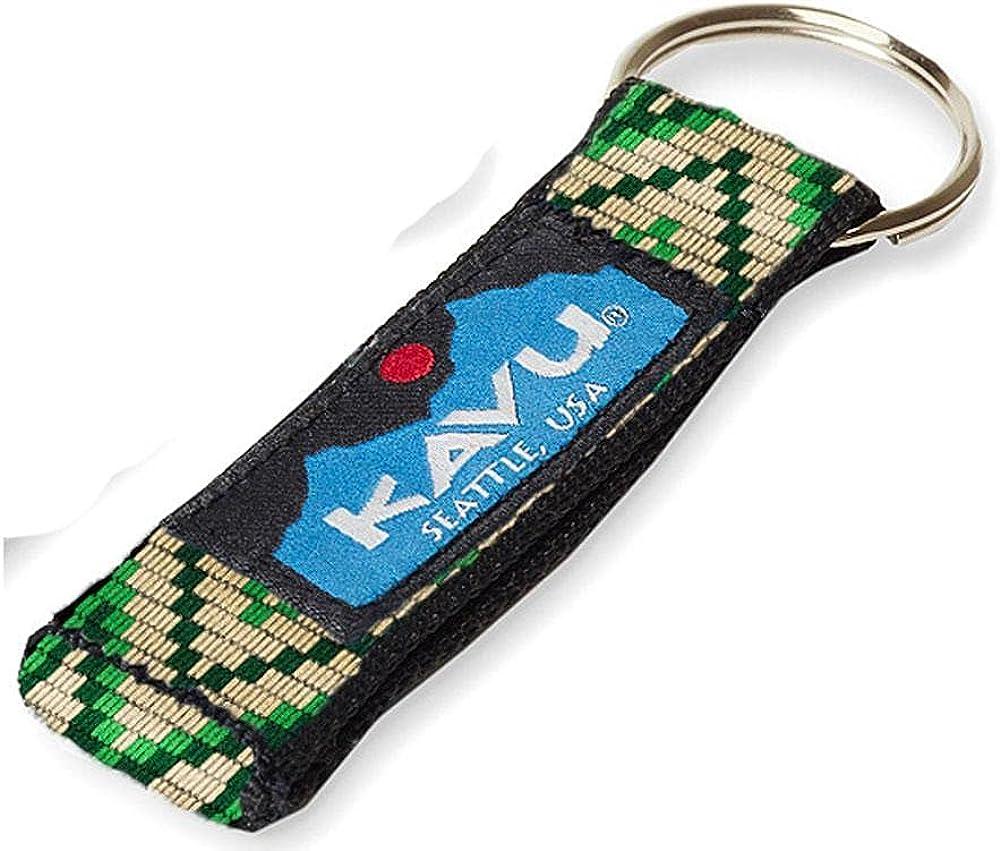 KAVU Rare Keychain Free shipping on posting reviews Tubular Webbing Climbing For Hiking Outdoor