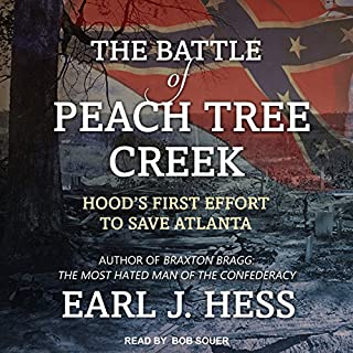 The Battle of Peach Tree Creek audiobook cover art