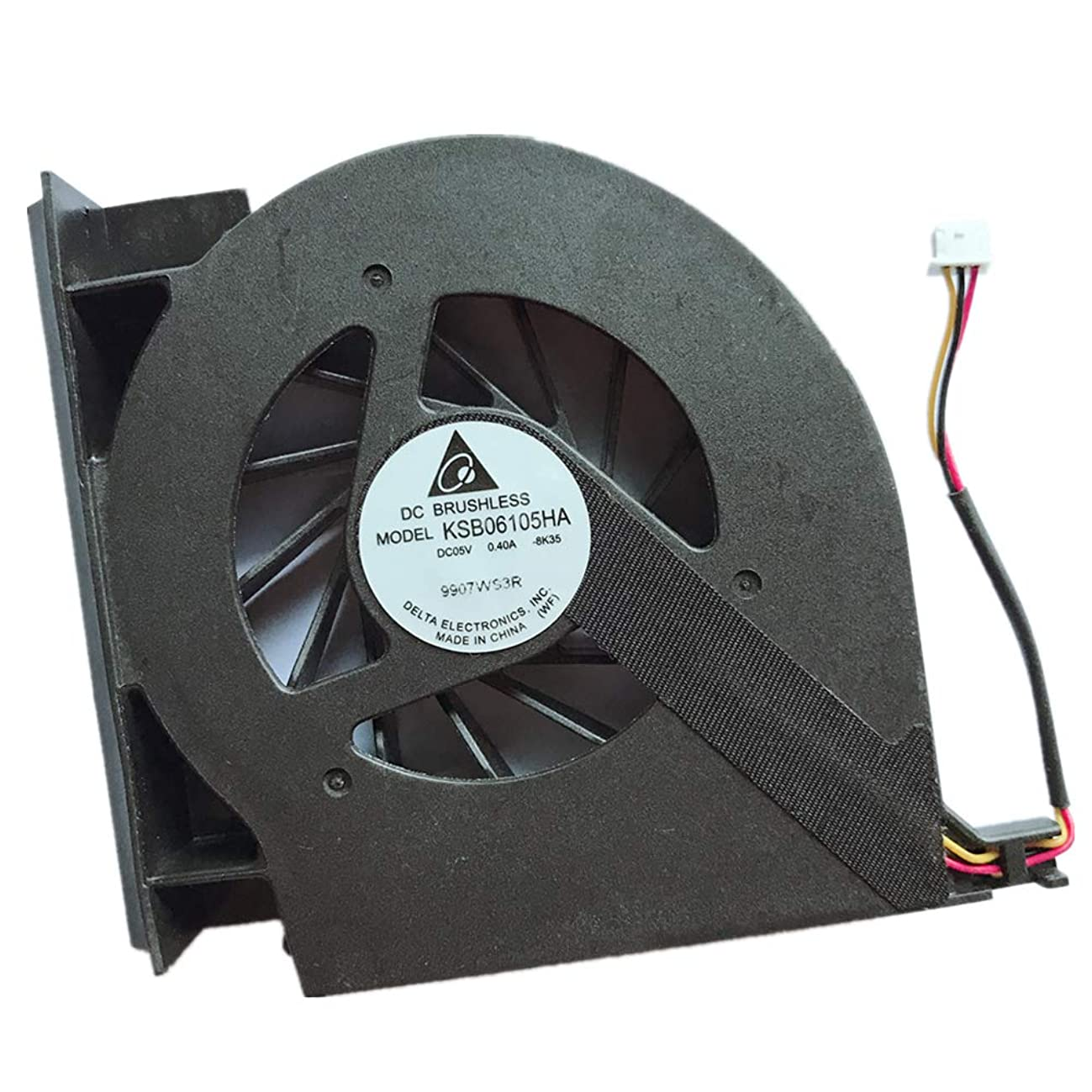 Replacement Compatible Laptop CPU Cooling Fan Cooler for HP Compaq Presario Pavilion by CQ61 G61 CQ71 G71 CQ70 532605-001 CQ61-420ER CQ61-404AU CQ61-306TX CQ61-327TX CQ61-328TX CQ61-223TX CQ61-110TU