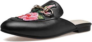 Nine Seven Women's Leather RoundToe Basic Flats