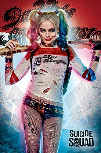 Suicide Squad Poster Pack Daddy's Lil Monster 61 x 91 cm (5) Pyramid International Wall Scrolls