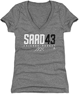 500 LEVEL Brandon Saad Women's Shirt - Chicago Hockey Shirt for Women - Brandon Saad Saad43