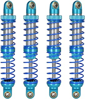 90mm Globact 1//10 RC Car Oil Adjustable Metal Shock Absorber Damper for 1//10 RC Car Parts Truck Crawler Axial SCX10 TRX4 D90