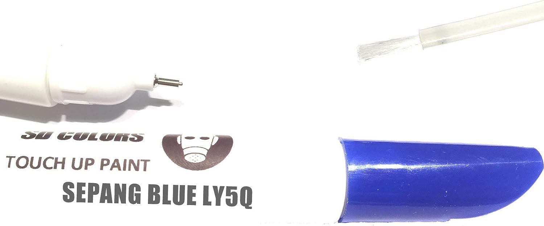 Sd Colors Neue Ausbesserungsfarbe Sepangblau Ly5q Reparatur Kratzen 12ml Farbcode Ly5q Farbe Auto