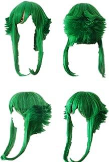 Mister Bear Vocaloid Gumi Light Green Short flip Out Cosplay Costume Wig