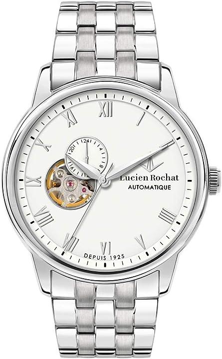 Orologio uomo, collezione iconic, automatico, in acciaio - r0423116001  lucien rochat 8033288923640