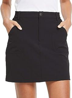 BALEAF Women's Outdoor Skort UPF 50 Active Athletic Skort Casual Skort Skirt with Zip Pockets Hiking Golf