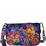 Laurel Burch Laurel's Garden Crossbody Bag (Laurel's Garden)
