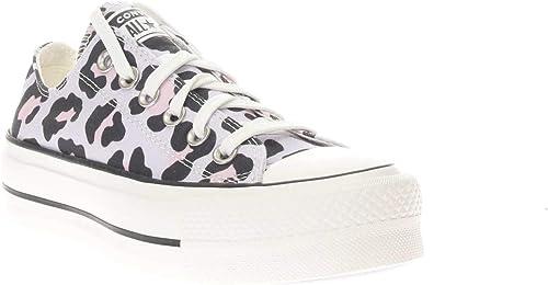 Converse Sneakers Donna Mod. 568003C Bassa Vintage White Lilla