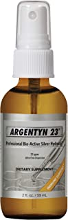 Argentyn 23® Professional Formula Bio-Active Silver Hydrosol for Immune Support* – 2 oz. (59 mL) Fine Mist Spray – Colloid...