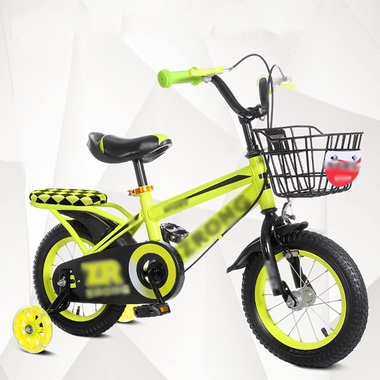 Kinderfahrrder YANFEI Kinder Fahrrad, Gre Optional 12 Zoll, 14 Zoll, 16 Zoll, 18 Zoll Rot Blau Gelb Sicher und zuverlssig Kindergeschenk