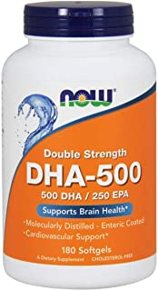 Now Foods DHA 500 / EPA 250 Double Strength - 180 Softgels