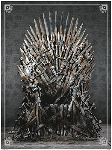 Dark Horse Comics Game of Thrones Iron Throne 1000 Piece Deluxe Jigsaw Puzzle