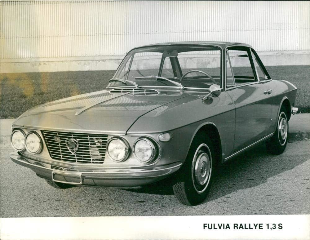 Vintage photo of Lancia Fulvia 3 S 4 years warranty 1 It is very popular Rallye 1972