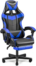 FERGHANA Racing Style PC Computer Chair,Gaming Chair, E-Sports Chair,Ergonomic Office Chair with Height Adjustment,Retract...