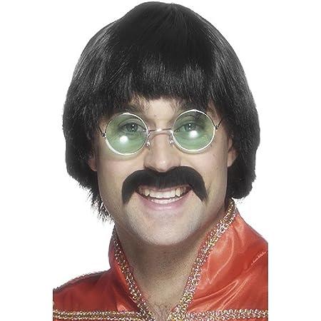 70s Mersey Wig & Tash