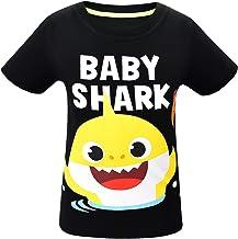 Niños Niñas Bebé Tiburón Doo Doo Familia Que Empareja Camisetas Divertidas