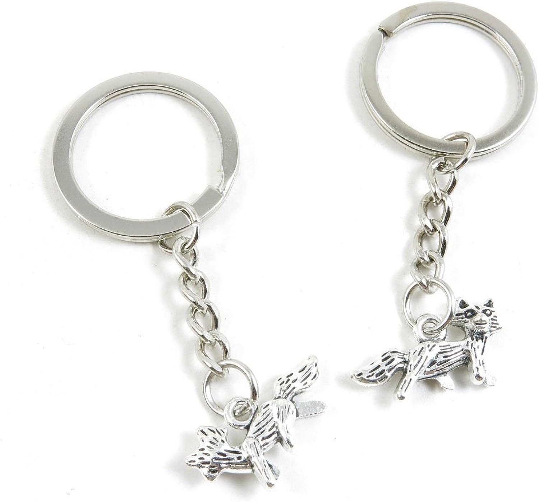 210 Pieces Fashion Jewelry Keyring Keychain Door Car Key Tag Ring Chain Supplier Supply Wholesale Bulk Lots I4KP4 Fox