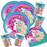 Unbekannt 52-teiliges Party-Set Barbie Dreamtopia