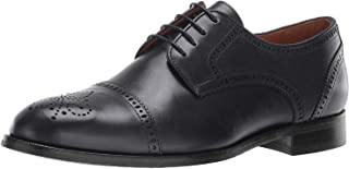 Mens Leather Kensigton 2 Oxford Lace-up Wingtip Dress Shoe