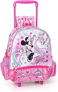 593003fa0b zaino Trolley Minnie Mouse Disney Borsa Scuola Asilo Bambina CM. 30 - 36216C
