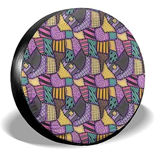 Dem Boswell Rueda de Repuesto Cubierta del neumático Sally Ragdoll Scraps Poliéster Potable Universal Impermeable Protector Solar a Prueba de Polvo Ajuste Universal