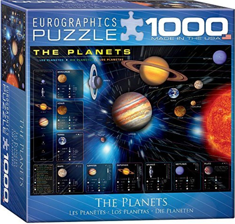 presentando toda la última moda de la calle The Planets Puzzle, Puzzle, Puzzle, 1000-Piece by EuroGraphics  están haciendo actividades de descuento