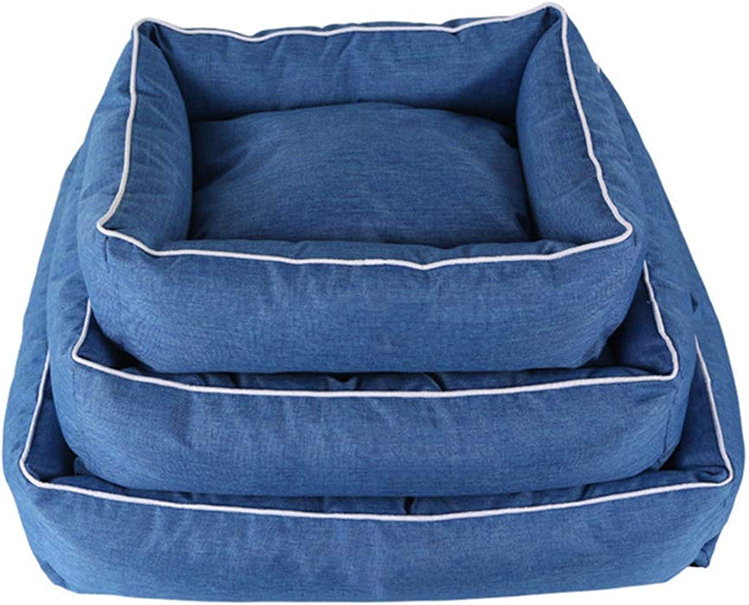 Detachable FourSeason Pet Nest, Waterproof and Breathable Cationic Oxford Environmentally Friendly Pet Mat, Available in a Variety of Sizes,L