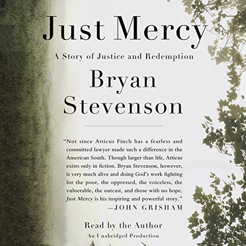 Just Mercy audiobook cover art