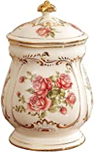 Funeral Cremation Urn for Ashes Adult Medium-Sized - Made in Ceramics and Handmade - Display Burial at Home Or in Niche at...