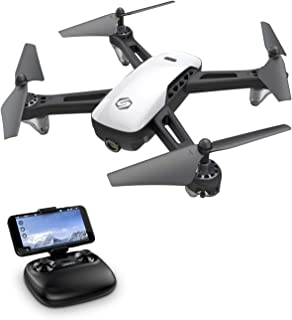 SANROCK U52 Drones for Kids and Adults with 720P HD Camera, WiFi Live Video FPV Drone, RC Quadcopter for Beginners, Gravit...