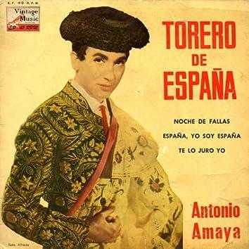 "Vintage Spanish Song Nº63 - EPs Collectors ""Torero De España"""