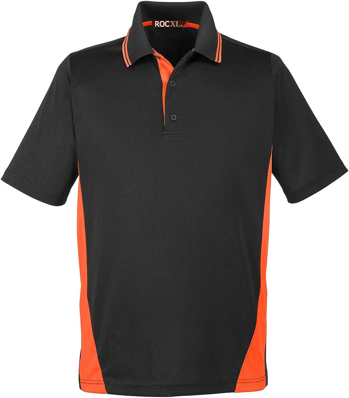 ROCXL Big & Tall Men's Polo Shirt 2XL – 6XL Bright Color Block