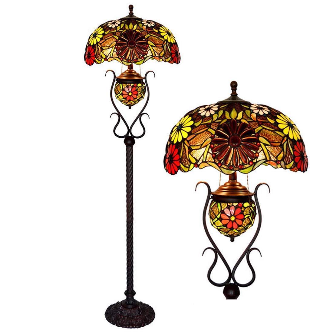 Tiffany Stil Stehlampe Europaischen Retro Wohnzimmer Schlafzimmer