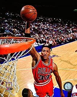 NBA Scottie Pippen Chicago Bulls Action Photo (Size: 8