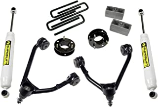 Superlift Suspension | 3850 | 3.5 inch Lift Kit - 2007-2016 Chevy Silverado and GMC Sierra 2WD with CAST Steel Control arms - with Superlift Rear Shocks