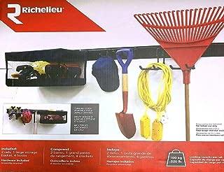 RICHELIEU 7 Piece Garage Organization System with Storage Basket, Model TK29S07
