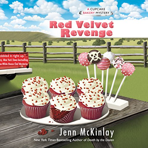 Red Velvet Revenge audiobook cover art