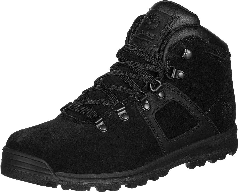 Timberland Gt Scramble Waterproof Mid Hiker Boots Black Amazon Co Uk Shoes Bags