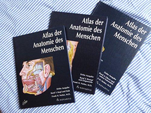Netter: Atlas der Anatomie des Menschen (3 Bände)