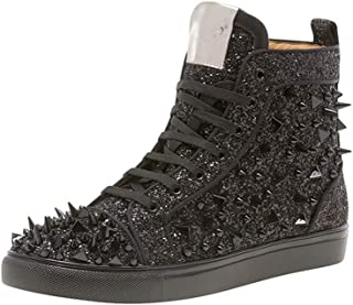 Newyork Men's Sloan Glitter Spikes High Top Sneaker