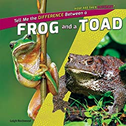 Tell Me the Difference Between a Frog and a Toad by Leigh Rockwood